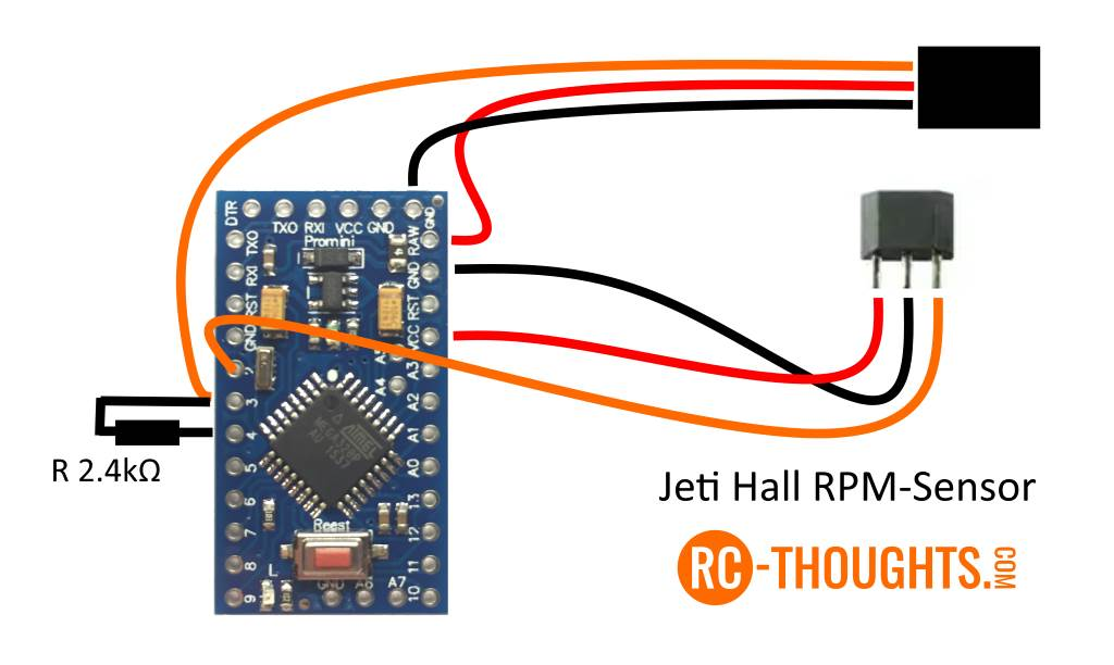 Jeti Hall RPM-Sensor – RC-Thoughts.com Rc Sensored Esc Wiring Diagram on brushless drill wiring-diagram, 4s lipo wiring-diagram, mystery brushless outrunner wiring-diagram, rc heli wiring-diagram, hobbywing esc wiring-diagram,