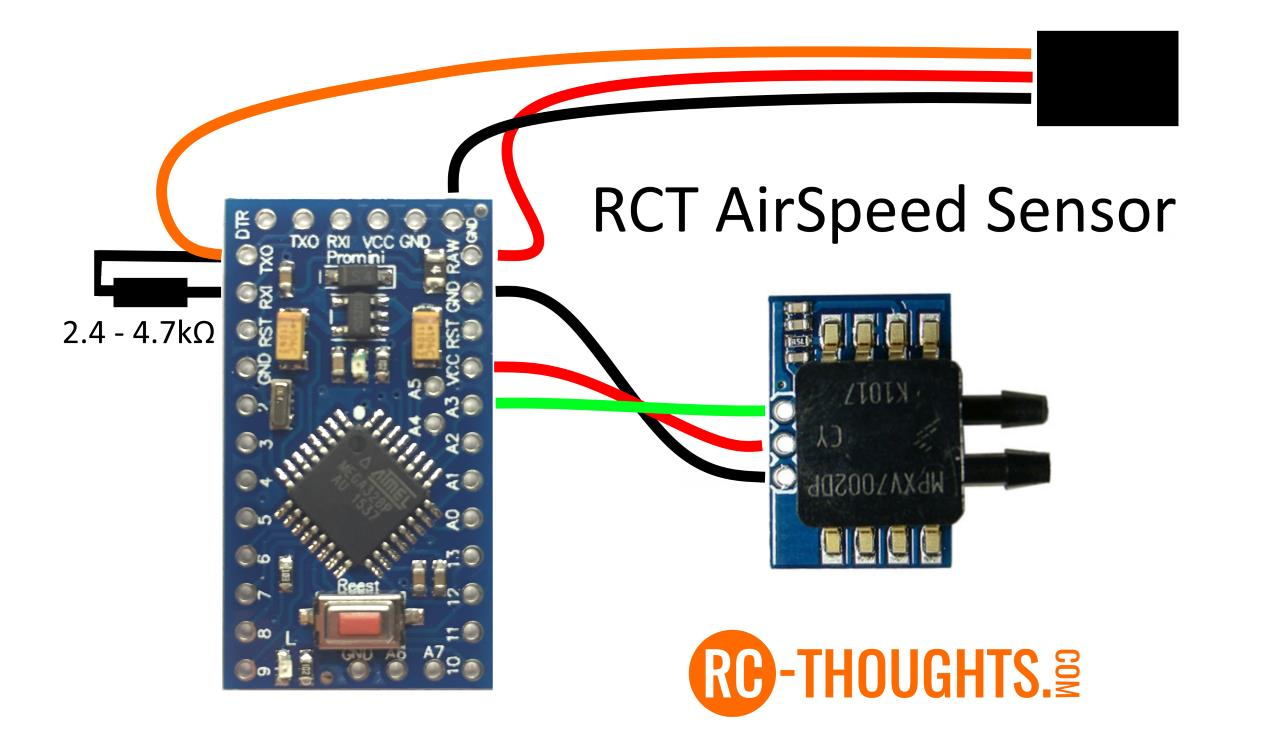 Jeti Airspeed Sensor – RC-Thoughts com