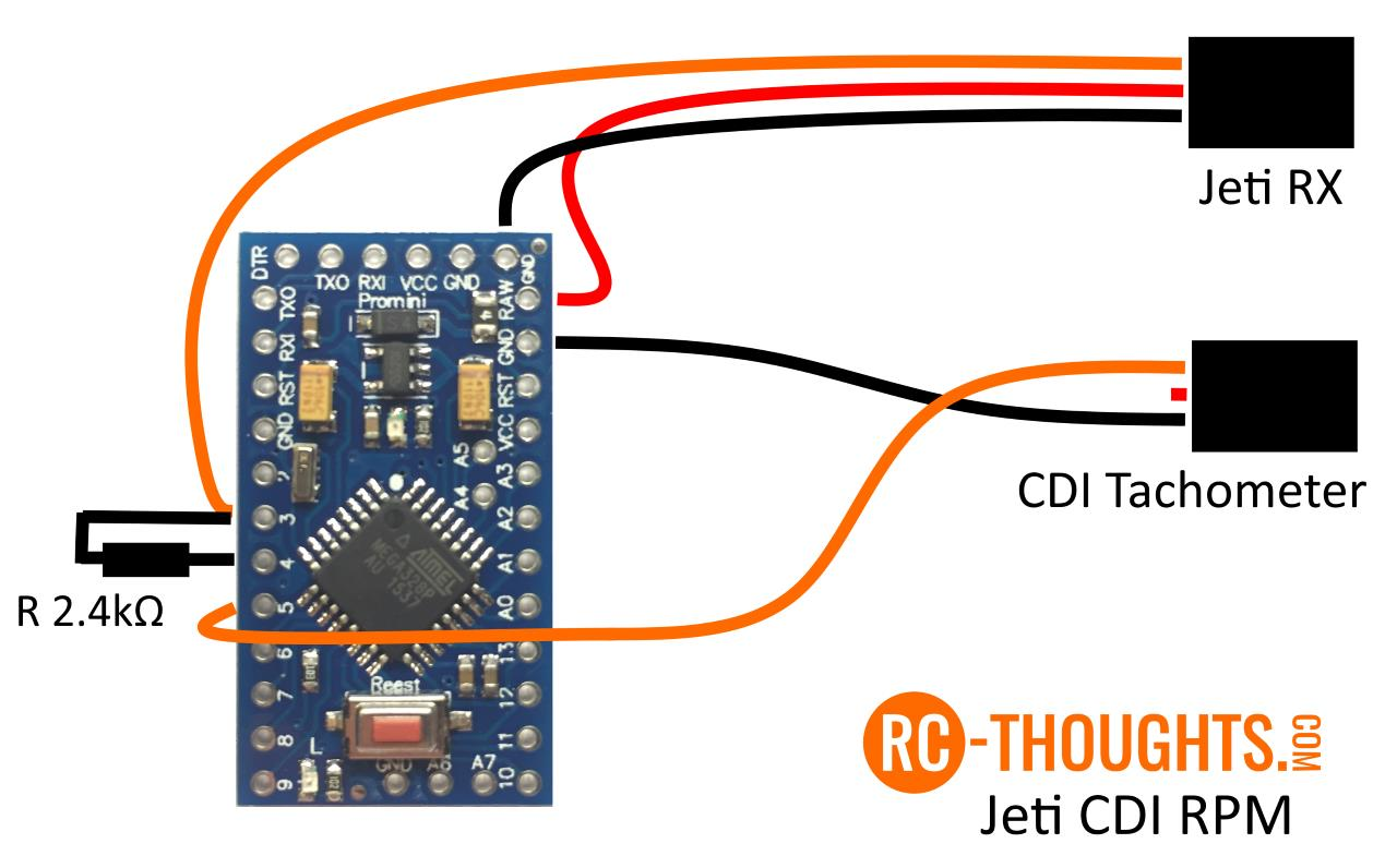 Jeti CDI-Sensor – RC-Thoughts com