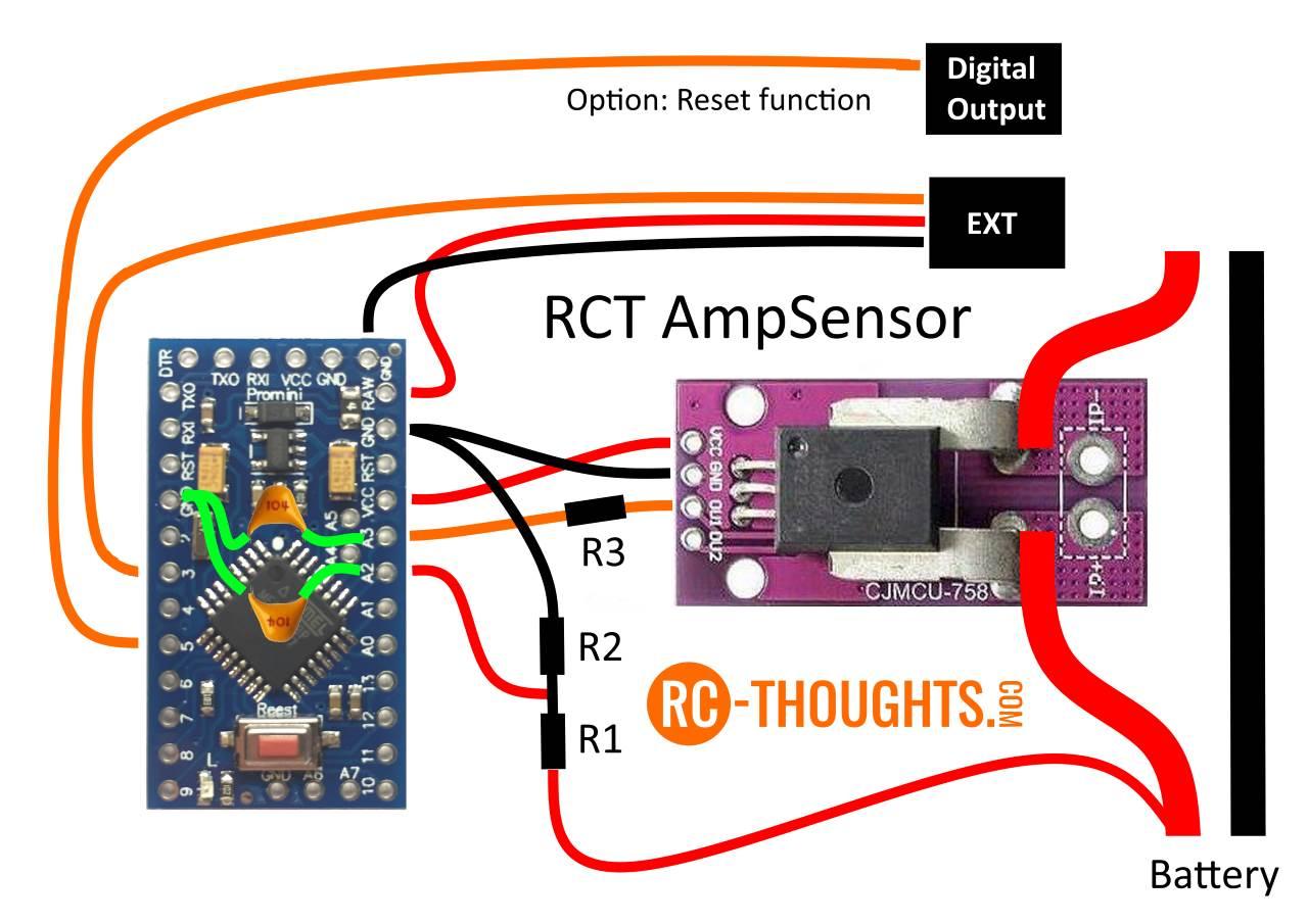 Jeti AmpSensor – RC-Thoughts com