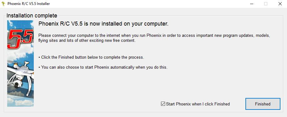 Phoenix Sim Install